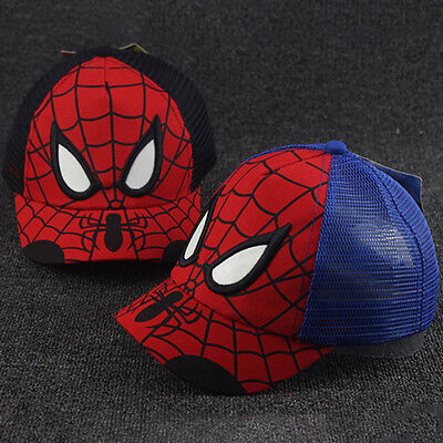 Superman/Batman Hat Kids Boy Girl Baseball Cap Adjustable Snapback Summer Sunhat