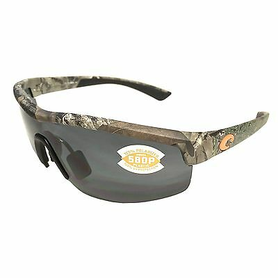 NEW Costa Del Mar Straits Sunglasses Realtree – Xtra Camo – POLARIZED Gray