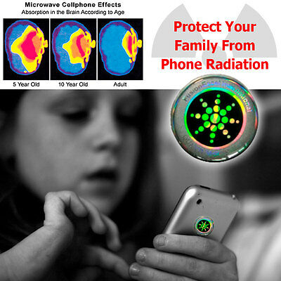 Mobile Phone Anti Radiation Sticker EMR Reduce Heat Shield - PROTECT YOUR FAMILY