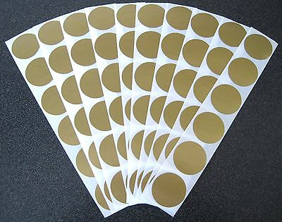 100 Gold Scratch Off Stickers-Make Your Own Scratchies-Baby Showers Etc!