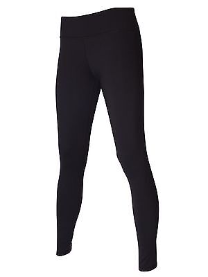 Women's Gym BLOCKOUT Long Panelled SpacedBlack Training Fitness Tights Yoga