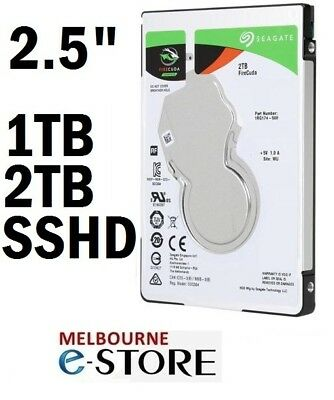 "Seagate Firecuda Laptop Internal SATA3 Gaming Hard Drive 1TB 2TB 2.5"" SSHD NEW"