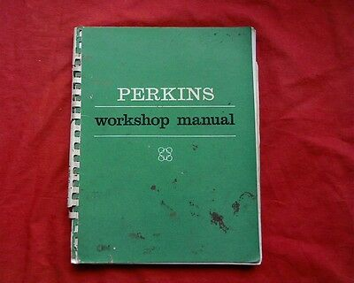 Perkins 4.236, 4 236 Engine Workshop Service Repair manual