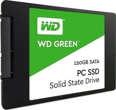 Hard Disk Stato Solido Ssd Western Digital Green 120Gb Sata
