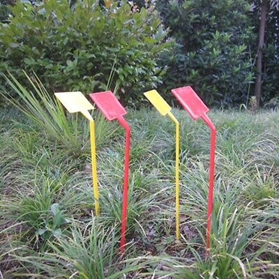 5Pcs T-Type Upturned Plant Labels Tags Marker Seedl Nursery Garden Stick Plastic