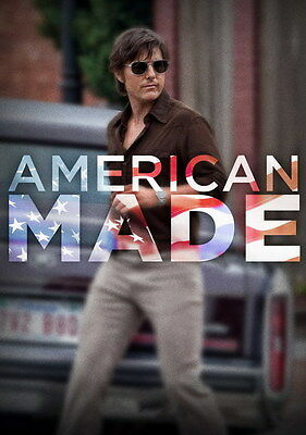 "001 American Made 2017 - Tom Cruise Crime Thriller 2017 USA Movie 14""x19"" Poster"