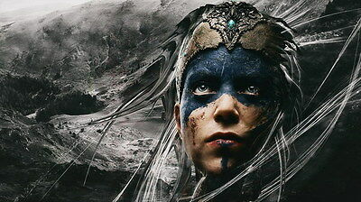 "006 Hellblade - Celtic Action Fight Game 24""x14"" Poster"