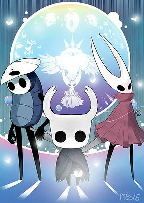 """008 Hollow Knight - ACT Action Game 14""""x19"""" Poster"""