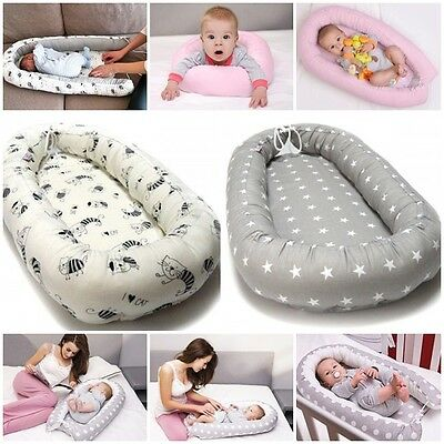 Baby Pod Nest 0-6 months with mattress, Travel cot, insert for pram, cot  bumper