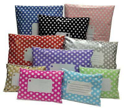 Polka Dots Mailing Bags Size/Colour/Qty