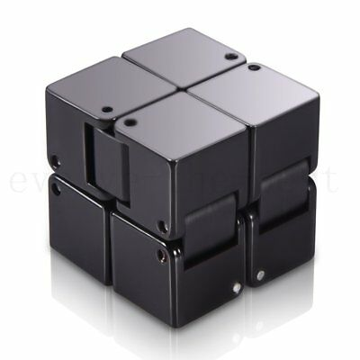 Infinity Cube Mini Magic ABS Fidget Toy Finger EDC Anxiety Stress Relief Puzzle