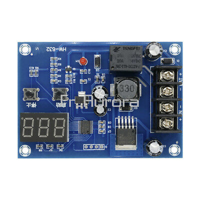 DC12V-24V Lithium Battery Charge Control Protection Board w/ LED Display XH-M603