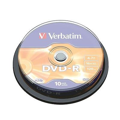 Verbatim 4.7GB 4x Speed Jewel Case DVD-RW (Pack of 10) 43486 [VM35235]