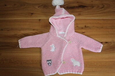 NEXT girls woodland jacket cardigan 0-3 months *I'll combine postage*