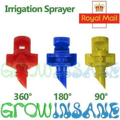 90°/180°/360° Sprayer Nozzle Jet Mister Cloning Hydroponic Irrigation Water
