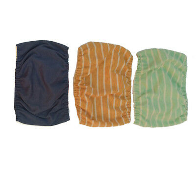 3 Pack Reusable Male Dog Diapers Dura Puppy Belly Band Comfort Easy Attach New