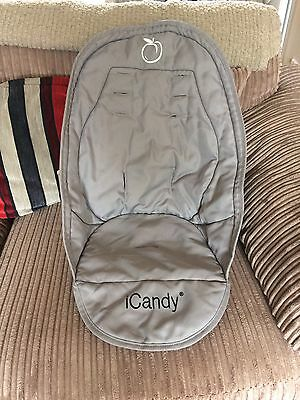 Icandy Peach Silver mint Liner Main Seat