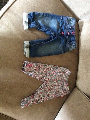 Baby Girl Trouser Bundle 3-6 Months