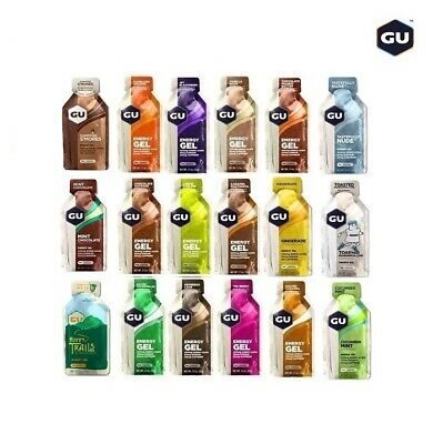 GU Energy Gel - 6, 12 or 24 Gel Packs