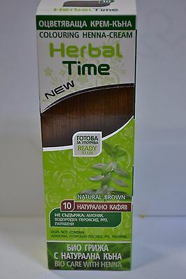 100% Natural Henna Colour Cream Herbal Hair Colorant Dye Ready To Use  Top