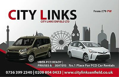 City Links Enfield PCO UBER READY CARS