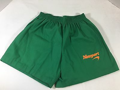Vintage Newport (Cigarettes) Green Athletic Shorts - Unisex