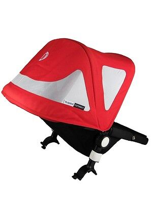 Bugaboo Cameleon Breezy sun canopy fleece Red