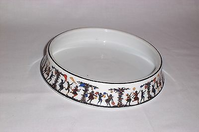 VTG ANTIQUE 1920's Victoria Czecho-Slovakia CHILD'S CHINA BOWL BABY DISH Play
