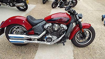 Indian Scout 1133cc  2016 reg bike  5875 miles  one private owner