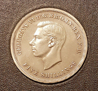 1951 George Vi Festival Of Britain Crown Five Shillings Coin Boxed
