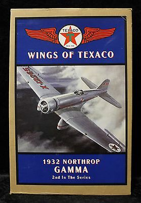 Wings of Texaco 1932 Northrop Gamma Authentically Scaled Replica Metal Coin Bank