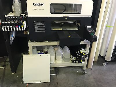 Brother GT-3 Series 831Excellent Condition - Comes with Air Fusion heat press