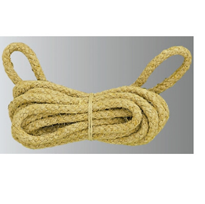 NEW LONG CASE REPLACEMENT ROPE FOR CLOCK REPAIR dia 5mm approx 3.6mtrs - CL15