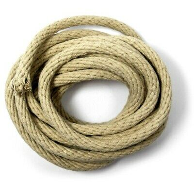 NEW LONG CASE REPLACEMENT ROPE FOR CLOCK REPAIR dia 8mm approx 3.6mtrs - CL158