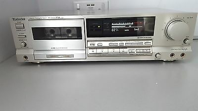 Technics RS-B565 PXS CAP Cassette Tape Deck Made In Japan RARE SILVER VERSION