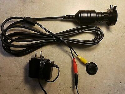 Olympus Fiberscope to Video Coupler for Video  Endoscope Endoscopy RCA 25mm lens