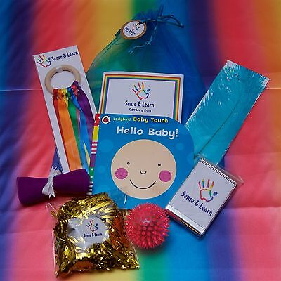 Under 1s Sensory Bag Baby Shower Early Learning Baby Gift