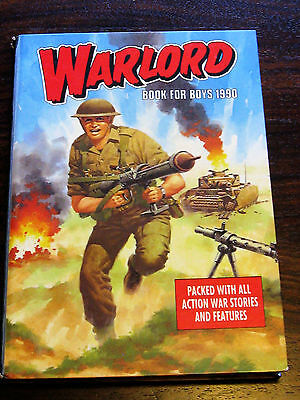 Warlord annual book for boys 1990