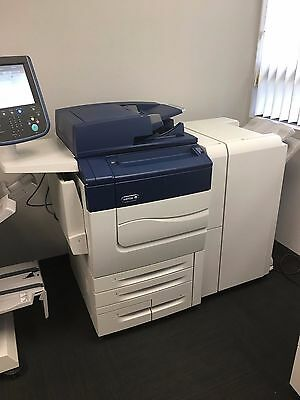 Xerox Color C60 comes with Advanced Finisher Low meter 154K