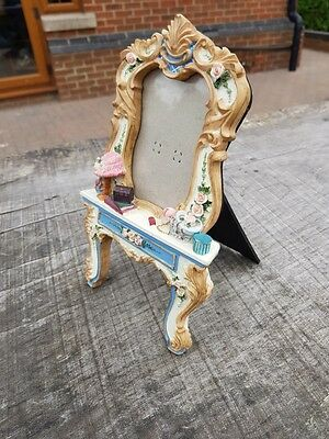 Dressing table picture frame
