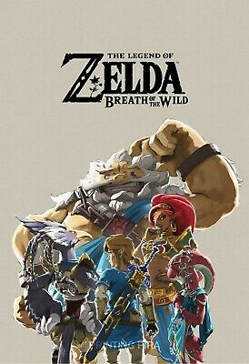 The Legend of Zelda Breath of the Wild - Champions Art - High Quality Prints
