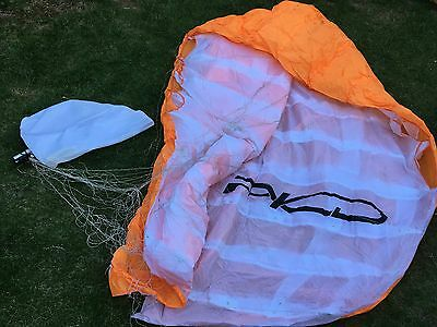 PKD Buster 9m power kite Paracontrol Kite Division Orange/White