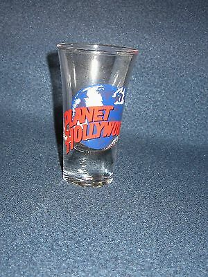 """Planet Hollywood Phoenix 3.5"""" Tall Shot Glass - Flared Top"""