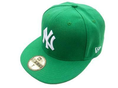 (Green/White) New York Yankees Custom New Era Fitted Hat 59Fifty