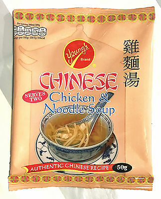 Yeungs Chinese Chicken & Noodle Soup 40g *** Best Value Buy***
