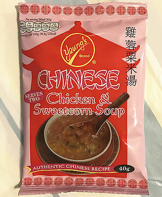 Yeungs Chinese Chicken & Sweetcorn Soup 40g *** Best Value Buy***