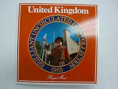 United Kingdom Brilliant Uncirculated Coin Collection 1985