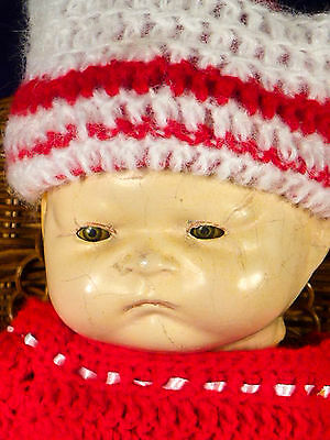 """ANTIQUE 16"""" ACME TOY CO Composition BABY DOLL Tin Sleep Eyes Pouty Face TLC"""