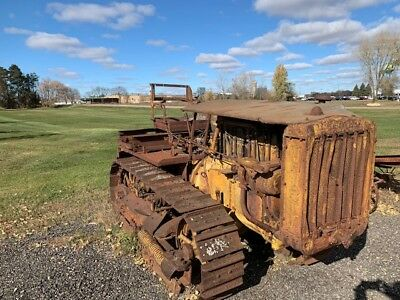 1932 Caterpillar Thirty, Cat 30, As Found, Good Parts Machine, Antique Crawler,