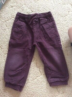 Matalan boys Trousers Size 12-18 Months